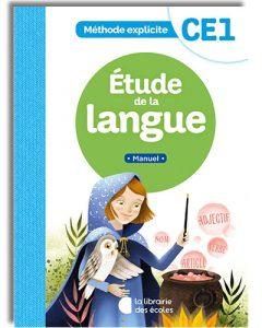 Méthode explicite de français - étude de la langue - manuel CE1